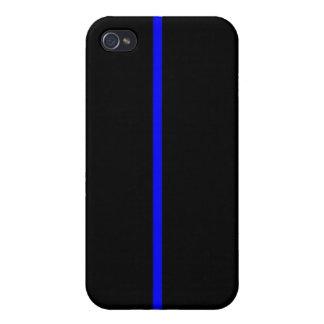 Thin Blue Line iPhone 4 Case