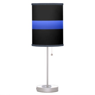 Thin Blue Line Lamp