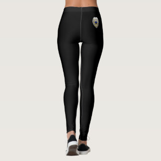 Thin Blue Line - No Greater Love Badge Leggings