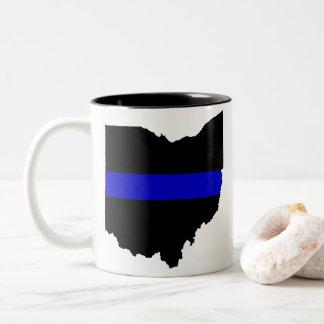 Thin Blue Line Ohio Coffee Mug