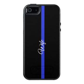 Thin Blue Line Otterbox Symmetry Iphone SE/5/5s Ca