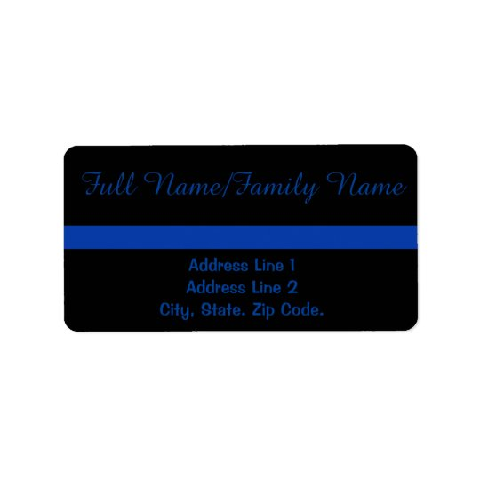 Thin Blue Line Personal