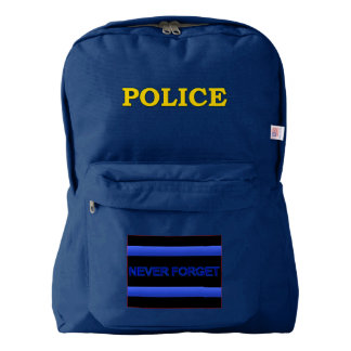 Thin Blue Line Police Kit Backpack