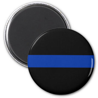 thin blue line police law 2 inch round magnet