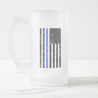 Thin Blue Line - Police Officer - Beer Mug