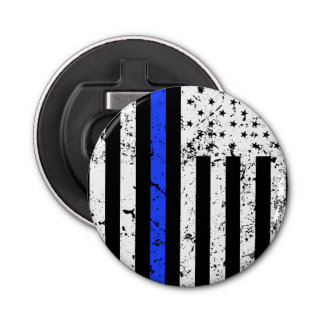 Thin Blue Line - Police Officer - bottle opener