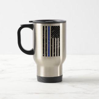 Thin Blue Line - Police Officer - coffee mug