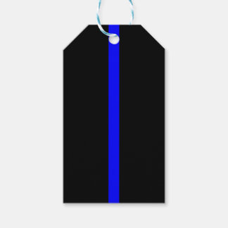 Thin Blue Line Remembrance on a Gift Tags