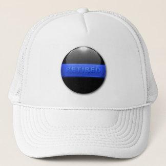 Thin Blue Line - Retired Officer Trucker Hat