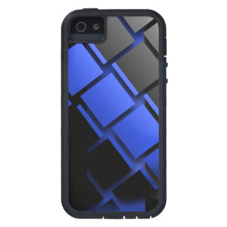Thin Blue Line Style iPhone 5 Cover