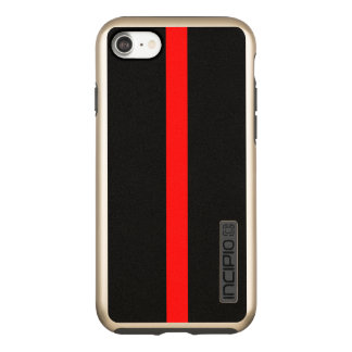 Thin Blue Line Symbolic on a Incipio DualPro Shine iPhone 8/7 Case