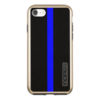 Thin Blue Line Symbolic on Incipio DualPro Shine iPhone 8/7 Case