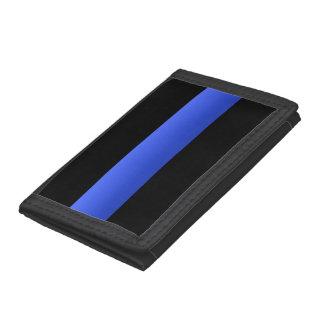 Thin Blue Line Tri-fold Wallets