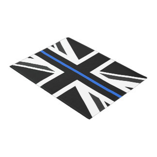 Thin Blue Line UK Flag Doormat