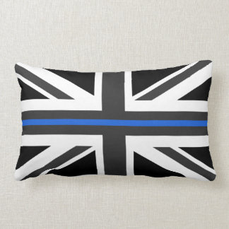Thin Blue Line UK Flag Lumbar Pillow