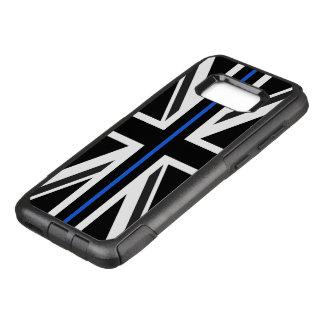 Thin Blue Line UK Flag OtterBox Commuter Samsung Galaxy S8+ Case