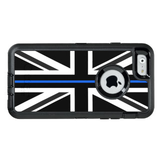 Thin Blue Line UK Flag OtterBox Defender iPhone Case