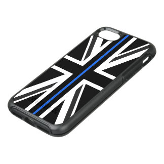 Thin Blue Line UK Flag OtterBox Symmetry iPhone 8/7 Case