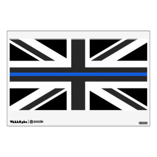 Thin Blue Line UK Flag Wall Sticker