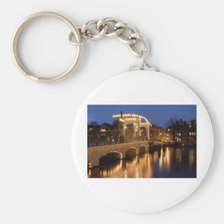 Thin bridge Amsterdam Keychain