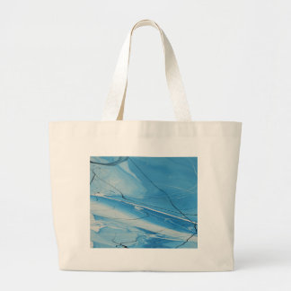 Thin Ice Large Tote Bag