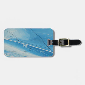 Thin Ice Luggage Tag