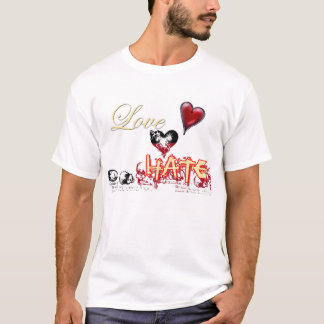THIN LINE BETWEEN LOVE AND HATE T-Shirt