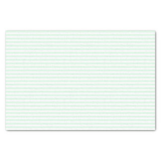 Thin mint green and white stripes - Tissue paper