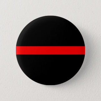 Thin Red Line 2 Inch Round Button