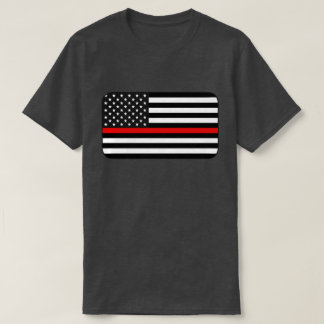 Thin Red Line American Flag T-Shirt