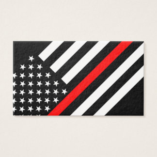 Thin Red Line American Style Business Card