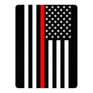 Thin Red Line American Style Card