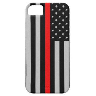 Thin Red Line Flag iPhone 5 Case
