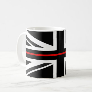 Thin Red Line UK Flag Coffee Mug