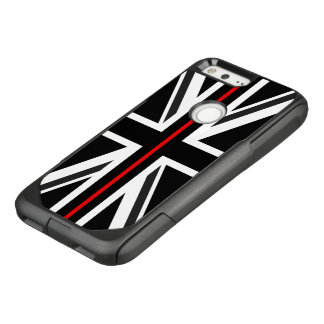 Thin Red Line UK Flag OtterBox Commuter Google Pixel Case