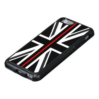 Thin Red Line UK Flag OtterBox iPhone 6/6s Case