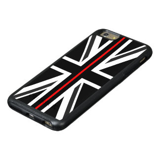 Thin Red Line UK Flag OtterBox iPhone 6/6s Plus Case