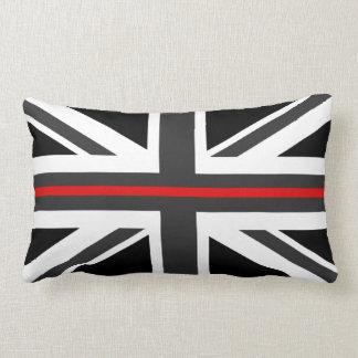 Thin Red Line UKFlag Lumbar Pillow