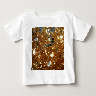 Thin section of a brick under the microscope baby T-Shirt