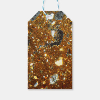 Thin section of a brick under the microscope gift tags