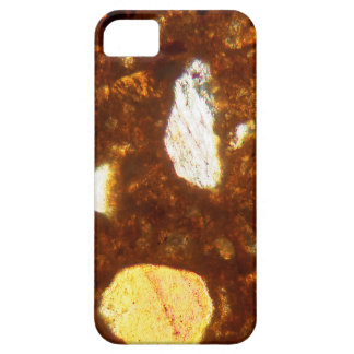 Thin section of a brick under the microscope iPhone 5 cases