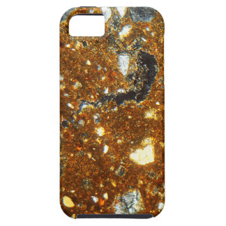 Thin section of a brick under the microscope iPhone 5 covers