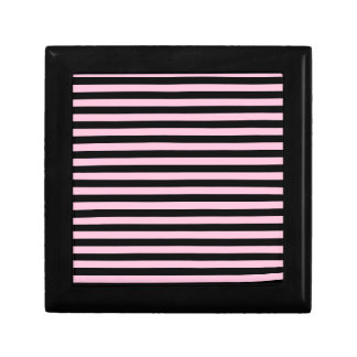 Thin Stripes - Black and Cotton Candy Gift Box