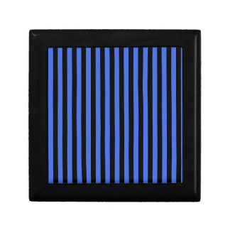Thin Stripes - Black and Royal Blue Gift Boxes