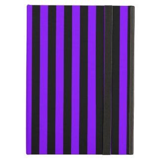 Thin Stripes - Black and Violet Case For iPad Air