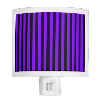 Thin Stripes - Black and Violet Nite Lite