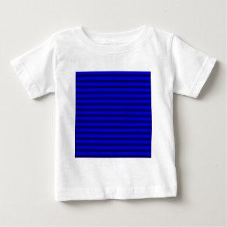 Thin Stripes - Blue and Dark Blue Baby T-Shirt