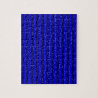 Thin Stripes - Blue and Dark Blue Puzzles