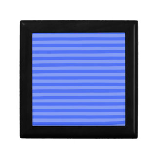 Thin Stripes - Blue and Light Blue Gift Box