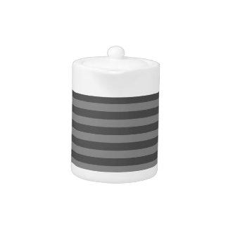Thin Stripes - Gray and Dark Gray